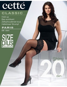 Cette Paris 346-10 stay-up 20 den XL-4XL
