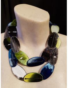 Halsband 6302 ovalt collier