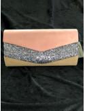 Väska 686 Clutch m bling