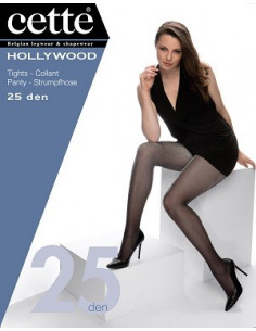 Cette Hollywood 745-12 strumpbyxa 25 den S-L