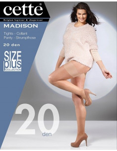 Cette Madison 788-10 strumpbyxa 20 den XL-4XL
