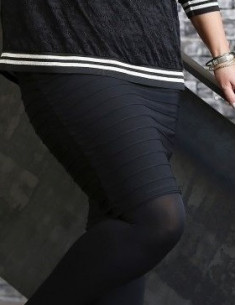 Zoey 171-2122 Ida trikå kjol