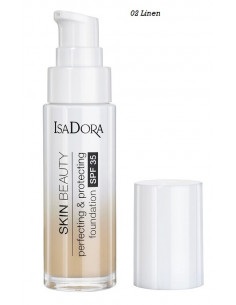 Isa Dora Skin beauty Perfecting & Protecting Foundation SPF 35