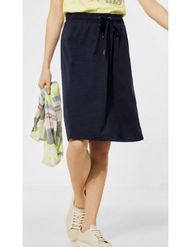 Cecil 360841 Solid jersey skirt