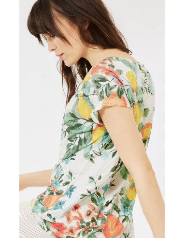 Cecil 316370 Crinkle shape top