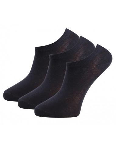 Trofé 01200 3-p Strumpor sneakers bomull